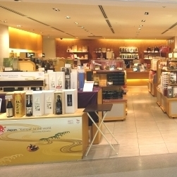 関西空港での日本酒試飲販売